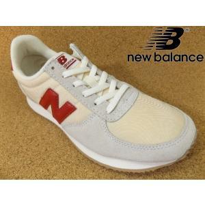 ニューバランス new balance WL220-BG(D) ベージュ/レッド│婦人 22.0cm〜25.0cm|kutuya
