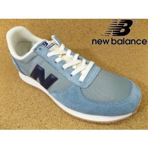 ニューバランス new balance WL220-OG(D) ライトブルー/ネイビー│婦人 22.0cm〜25.0cm|kutuya