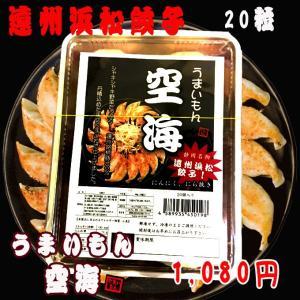 空海「遠州浜松餃子」20個入り 【味タイプ:ノーマル】