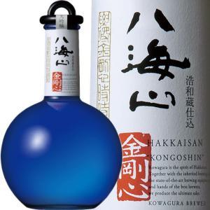 父の日 八海山 金剛心 純米大吟醸 生原酒 800ml 【最高級 日本酒 を贈る】31年6月 青色瓶|kuwaharasyoten