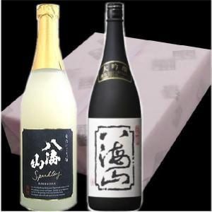 敬老の日 お酒 八海山 大吟醸 スパークリング にごり 箱入セット 各720ml|kuwaharasyoten
