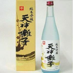 天神囃子 てんじんばやし 祝い酒(純米吟醸酒)化粧箱入1800ml|kuwaharasyoten