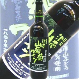 ワイン 山葡萄ワイン 津南産山ぶどう100%で醸した 限定箱入 720ml|kuwaharasyoten