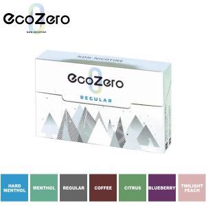 EcoZero エコゼロ 全6種類 単品販売 加熱式デバイス 茶葉スティック ニコチン0mg タバコ成分0% ecozero