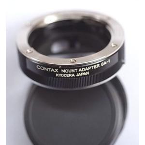 Contax コンタックス G用マウントアダプターGA-1(新同美品)|kwanryudodtcom