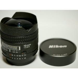 【送料無料】Nikon ニコン AF Fisheye Nikkor 16mm F2.8D(極美品中古)|kwanryudodtcom