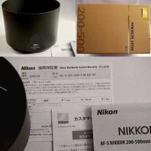 【送料無料】Nikon ニコン AF-S Nikkor 200〜500mm F5.6E ED VR(新同)|kwanryudodtcom|06