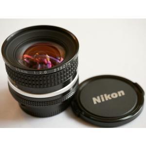 【送料無料】Nikon ニコン NIKKOR 20mm f2.8s (極美品中古)|kwanryudodtcom