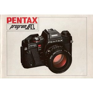 Pentax ペンタックス  program A  取扱説明書/オリジナル版(中古美品)です ・全6...