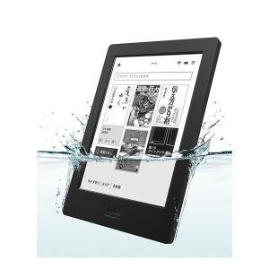 【在庫処分特価】Rakuten 電子書籍リーダー Kobo Aura H2O ブラック N250-KJ-BK-S-EP kwelfare