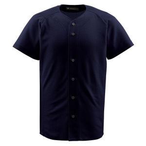 デサント(DESCENTE) フルオープンシャツ (野球) DB1010 ブラック O|kwelfare