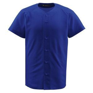 デサント(DESCENTE) フルオープンシャツ (野球) DB1010 ロイヤル XO|kwelfare