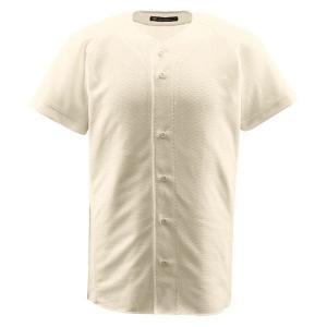 デサント(DESCENTE) フルオープンシャツ (野球) DB1010 Sアイボ M|kwelfare
