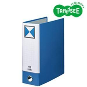 (まとめ)片開きパイプ式ファイルKJ(指かけ穴付) A4-S 80mmとじ 青 10冊 kwelfare