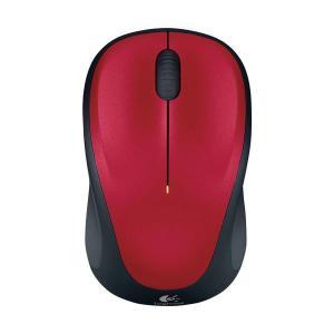 (まとめ) ロジクール Wireless Mouse レッド M235RRD 1個 〔×2セット〕 kwelfare