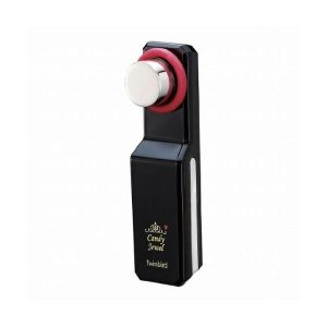 (まとめ)ツインバード Candy Jewel 超音波/イオン美顔器 ブラック SH-2662B〔×2セット〕 kwelfare