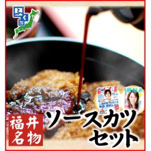 ふくい名物 ソースカツセット[ヒレカツ9枚・メンチカツ6個]