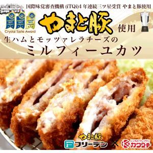 生ハムとチーズの ミルフィーユカツ 3枚 |同梱用| 豚 とんかつ 冷凍  お中元 食べ物|kwgchi