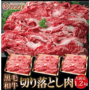 和牛 切り落とし 肉 1.2kg (400g 3パック) | 送料無料 | 訳あり 切落し 国産 すき焼き 牛肉 お歳暮 後払い 可能|kwgchi
