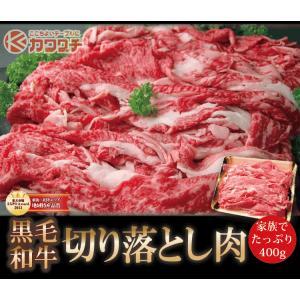 和牛 切り落とし 肉 約400g | 同梱用| 訳あり 切落し 国産 すき焼き 牛肉 お歳暮 400グラム|kwgchi