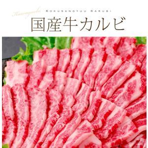 国産 牛 カルビ 焼肉 約400g  同梱用  バーベキュー BBQ 肉 牛肉 食材 お歳暮 後払い 可能 kwgchi