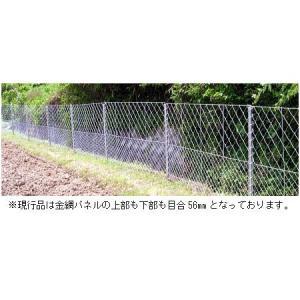 「簡単金網パネルフェンス 100メートル 直立タイプ」|kwn|02