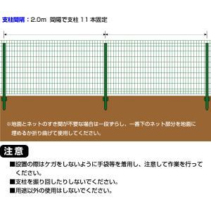「簡単金網フェンス改良型1500」外構フェンス|kwn|05