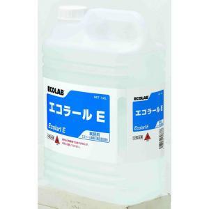 業務用アルコール除菌剤 エコラボ エコラールE(4.8L×3)