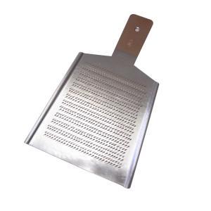 大矢製作所作 手作りの銅おろし金 平型2号(標準) 両面刃|kwtdi