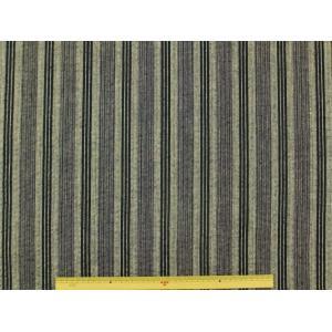 現品限り しじら織り生地 縞模様 2497−5グレー紺ライン 手作り甚平や浴衣に最適 サラッとした肌