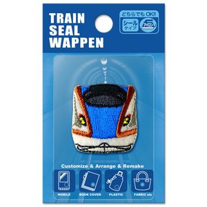 キャラクターワッペン アップリケ トレインシールワッペンW7系北陸新幹線 TR380-TR60 かがやき はくたか つるぎ