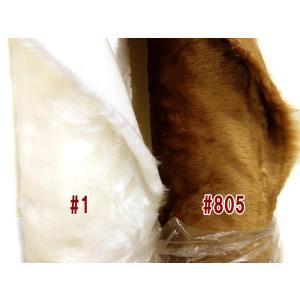 持越品 在庫処分 ブライトパイルファー 生地/布 5311 約150cm巾 素材:パイル:アクリル100%  グランド:ポリエステル100% 商用利用可能|ky-yoshikawa