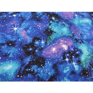 USAコットン 生地 布 タイムレストレジャーズ ギャラクシー C4847Galaxy 入園入学 宇宙 銀河系 天の川 商用利用可能