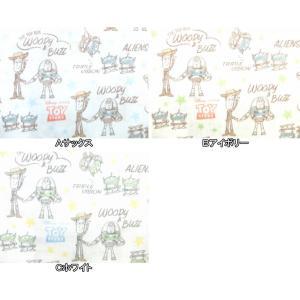 2017年6月 キャラクター生地 布 ダブルガーゼ生地 ディズニー ピクサー トイストーリー G7345 商用利用不可