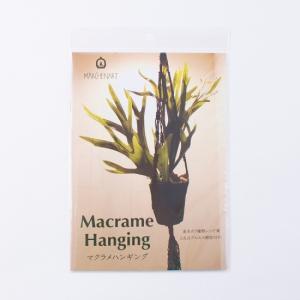 MA5077 書籍 ミニレシピ本 Macrame Hanging マクラメハンギング 基本の7種類レシピ集 2点はプロセス解説付き|ky-yoshikawa