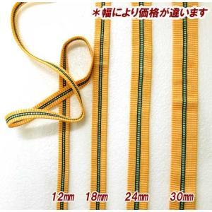 真田紐 さなだひも巾約24mm綿100%1m単位 切売り|ky-yoshikawa