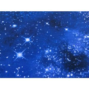 輸入 2WAYニット生地 布 USAコットン ギャラクシーニットCS9924-Space 宇宙柄 銀河系 タイムレストレジャーズ 商用利用可能 ky-yoshikawa
