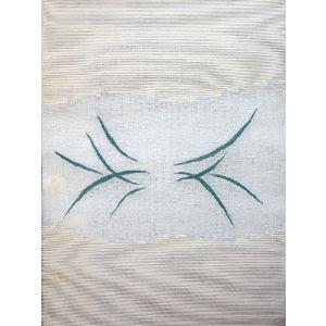 西陣織 夏物袋名古屋帯 まこと織物 紬 すくい紗八寸 蛍 kyo-obi-nishijinya 03