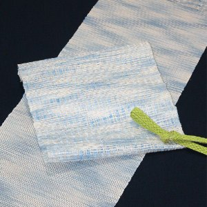 西陣織 夏物袋帯 泰生織物 夏上代袋帯 よろけ絣|kyo-obi-nishijinya