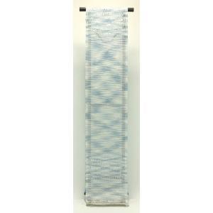 西陣織 夏物袋帯 泰生織物 夏上代袋帯 よろけ絣|kyo-obi-nishijinya|03