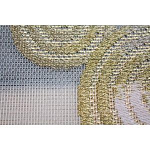 西陣織 夏物袋帯 泰生織物 唐縫紗 うず紋|kyo-obi-nishijinya|05