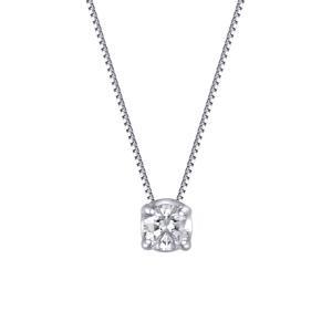 4本爪で留めることで作り出されたシンプルでありながらも、スタイリッシュなベルギーダイヤモンドペンダン...