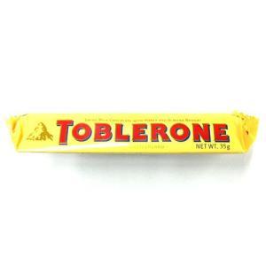 一度見たら忘れられない三角の形をしたチョコレート、TOBLERONE(トブラローネ)は、片手で食べら...