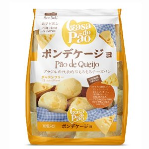 ポン デ ケイジョ(冷凍) ASSADO 400G (10 UND) CASA DO PAO|kyodai