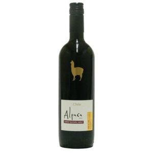 チリ産 赤ワイン 『アルパカ』 カベルネソーヴィニョン/メルロー サンタヘレナ 750ml|kyodai