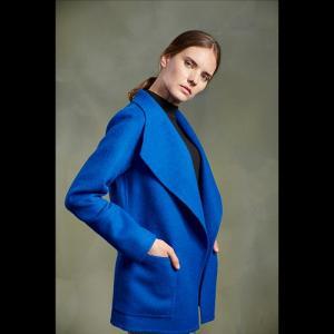 【30%OFF】KUNA ベビーアルパカ コート ブルー TWILIGHTH COAT k2001  【sale02】|kyodai