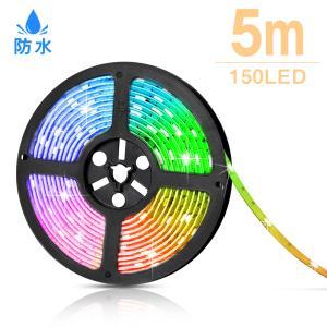 LEDテープライト LEDイルミネーション イルミネーション LED テープライト クリスマス 電飾 テープライト 5m SMD5050 RGB12V  間接照明 看板照明 DC12V|kyodo-store