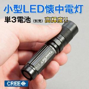 懐中電灯 LED ハンディライト CREE 最小サイズ ライト ハンドライト フラッシュライト 明るいライト 小型 ミニ 電池式|kyodo-store