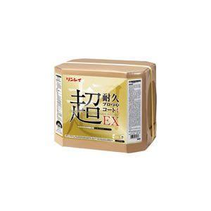 送料無料! ワックス 化学床用 超ぬれつや耐久性 リンレイ 超耐久プロつやコートI/18L(高濃度樹脂ワックス)|kyoeinet