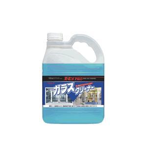 ガラス用洗剤 油汚れ、タバコのヤニ、手あかなどの汚れに! リンレイガラスクリーナー 4L 150817|kyoeinet